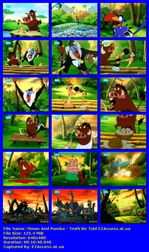 ΤΙΜΟΝ ΚΑΙ ΠΟΥΜΠΑ - Timon And Pumba: Truth Be Told (NET)