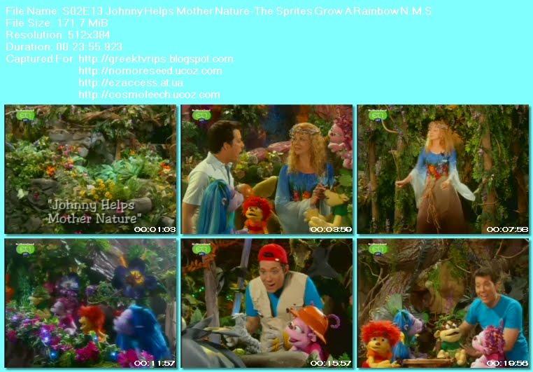 Ο ΤΖΟΝΙ ΚΑΙ  ΤΑ ΞΩΤΙΚΑ - JOHNNY AND THE SPRITES - S02E13 - Johnny Helps Mother  Nature - The Sprites Grow A Rainbow N.M.S. (ΕΤ1)