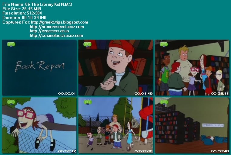 ΤΟ ΔΙΑΛΕΙΜΜΑ - RECESS - S03E66 - The Library Kid N.M.S.  (ET1)