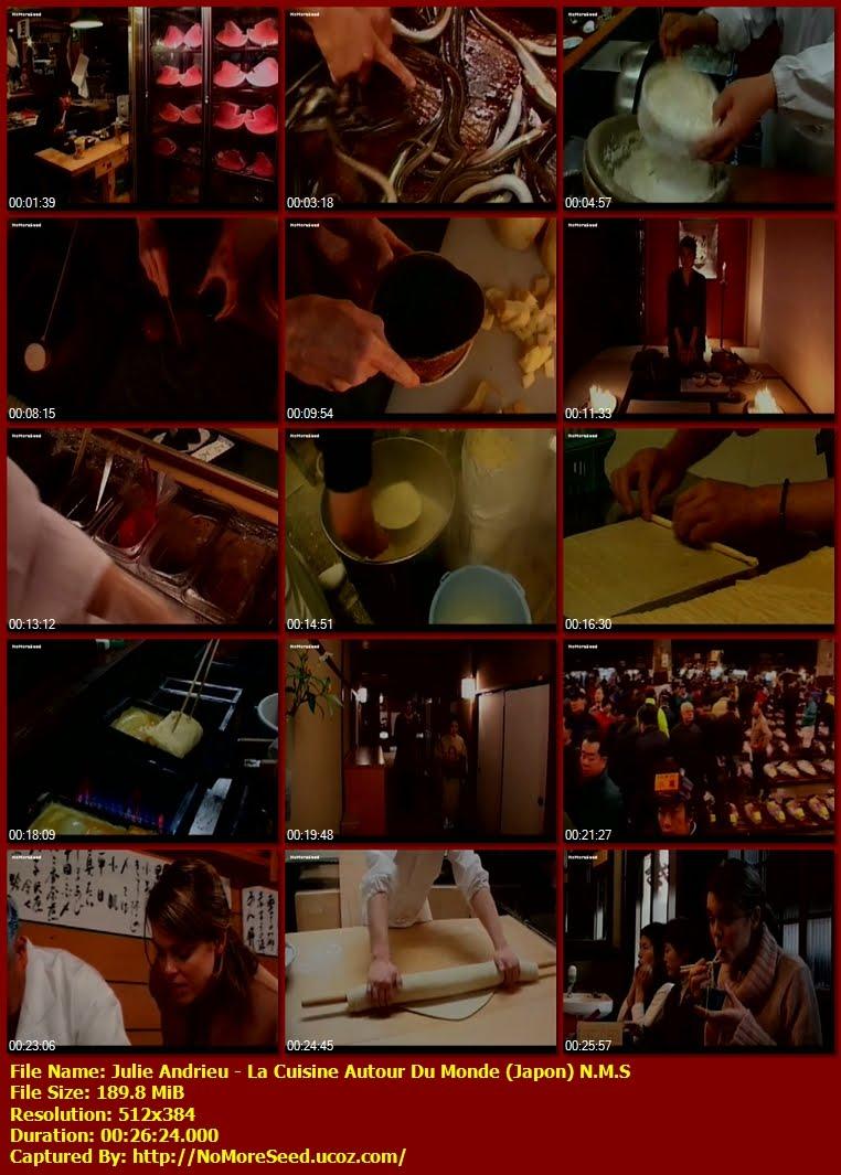 ΜΑΓΕΙΡΙΚΗ ΤΟΥ ΚΟΣΜΟΥ / Α  COOKING WORLD TOUR / JULIE ANDRIEU: LA CUISINE AUTOUR DU MONDE (Japon)  N.M.S. (ΕΤ3)