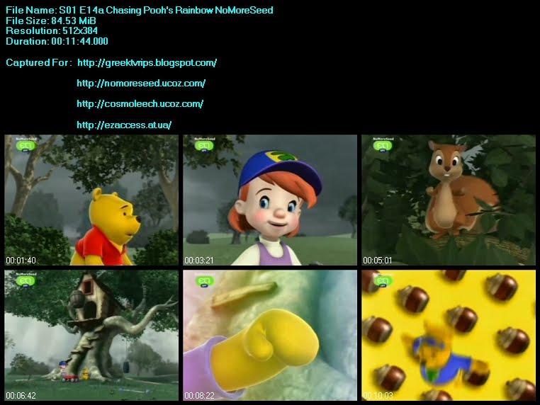 ΟΙ ΦΙΛΟΙ ΜΟΥ ΤΙΓΡΗΣ ΚΑΙ ΓΟΥΙΝΙ - S01 - E14a - My Friends  Tigger And Poo - Chasing Pooh's Rainbow N.M.S. (Μεταγλωττισμένο Στα  Ελληνικά) (ET1