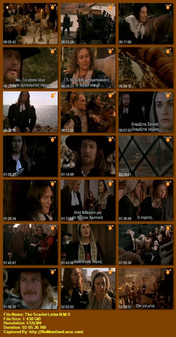 TO ΑΛΙΚΟ ΓΡΑΜΜΑ - The Scarlet Letter (1995)  (Ενσωματωμένοι Υπότιτλοι) N.M.S (ΣΙΝΕ+)