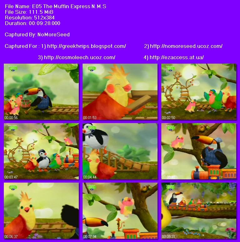 ΟΔΟΣ ΤΣΙΟΥ 3 (ΘΕΑΤΡΟ ΠΟΥΛΙΩΝ) - S01E05 - 3RD AND BIRD  (BIRD THEATRE) - The Muffin Express (ΜΕΤΑΓΛΩΤΤΙΣΜΕΝΟ ΣΤΑ ΕΛΛΗΝΙΚΑ)  N.M.S. (NET)