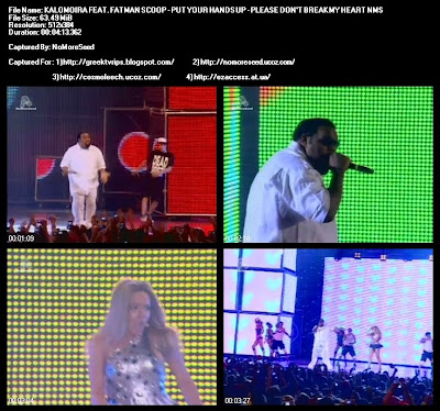 MAD VIDEO MUSIC AWARDS 2010 ΚΑΛΟΜΟΙΡΑ FEAT. FATMAN SCOOP - PUT YOUR  HANDS UP / PLEASE DON'T BREAK MY HEART N.M.S. (ALPHA)