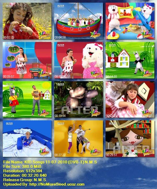 KID Songs 11-07-2010 (DVB-T) N.M.S. (ALTER)