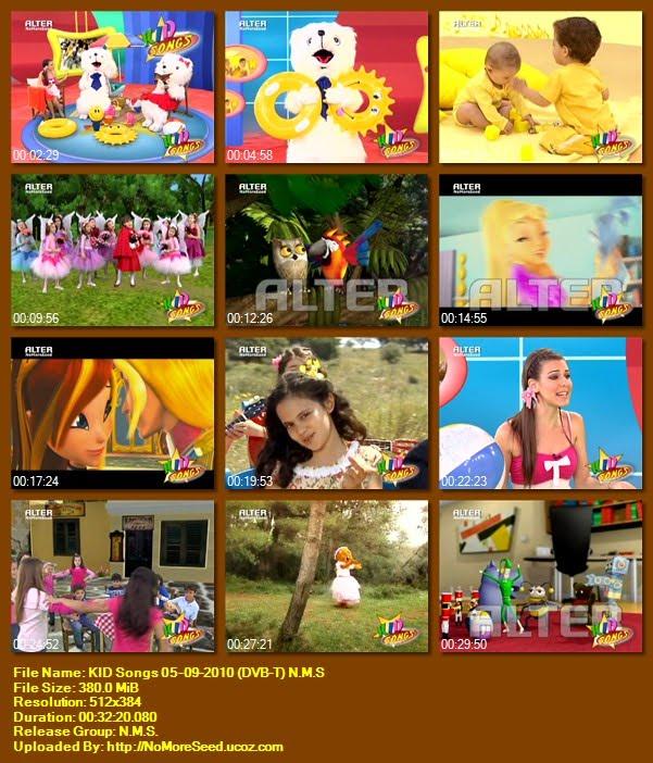 KID Songs 05-09-2010 (DVB-T) N.M.S (ALTER)