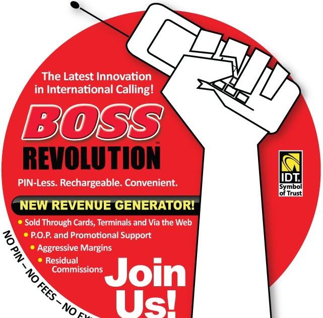 boss revolution recharge international