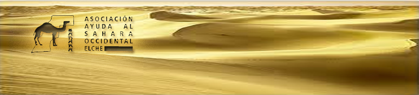 Ayuda al Sahara Occidental de Elche