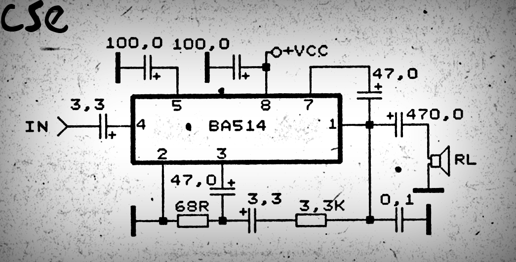 Superb Mini Audio Amplifier Using Ic An711 Basic Electronics Wiring Diagram Wiring Cloud Favobieswglorg