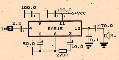 simple amplifier schematic diy circuit rh avecircuits blogspot com Amplifier Schematic Diagram Guitar Tube Amplifier Schematics