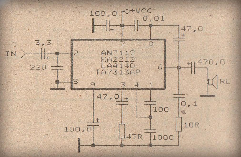 Tremendous Schematic Audio Power Amplifier With Ic An7105 Wiring Diagram Database Wiring Digital Resources Bemuashebarightsorg