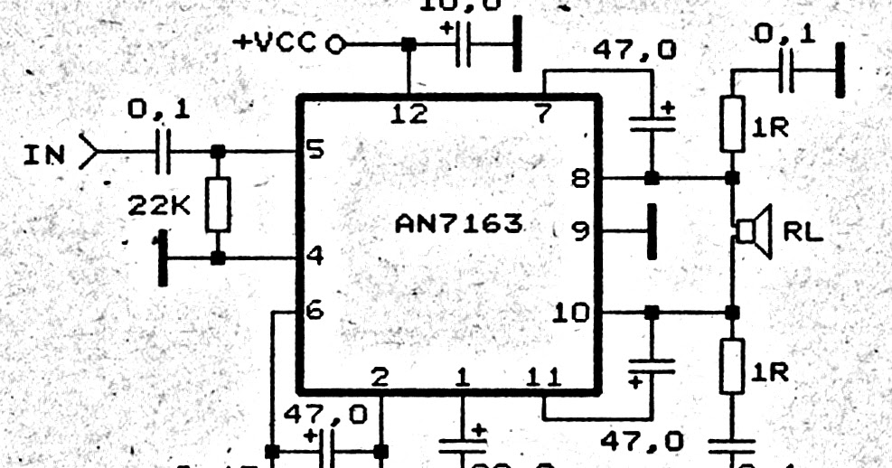 5 1 surround amplifier circuit schematic