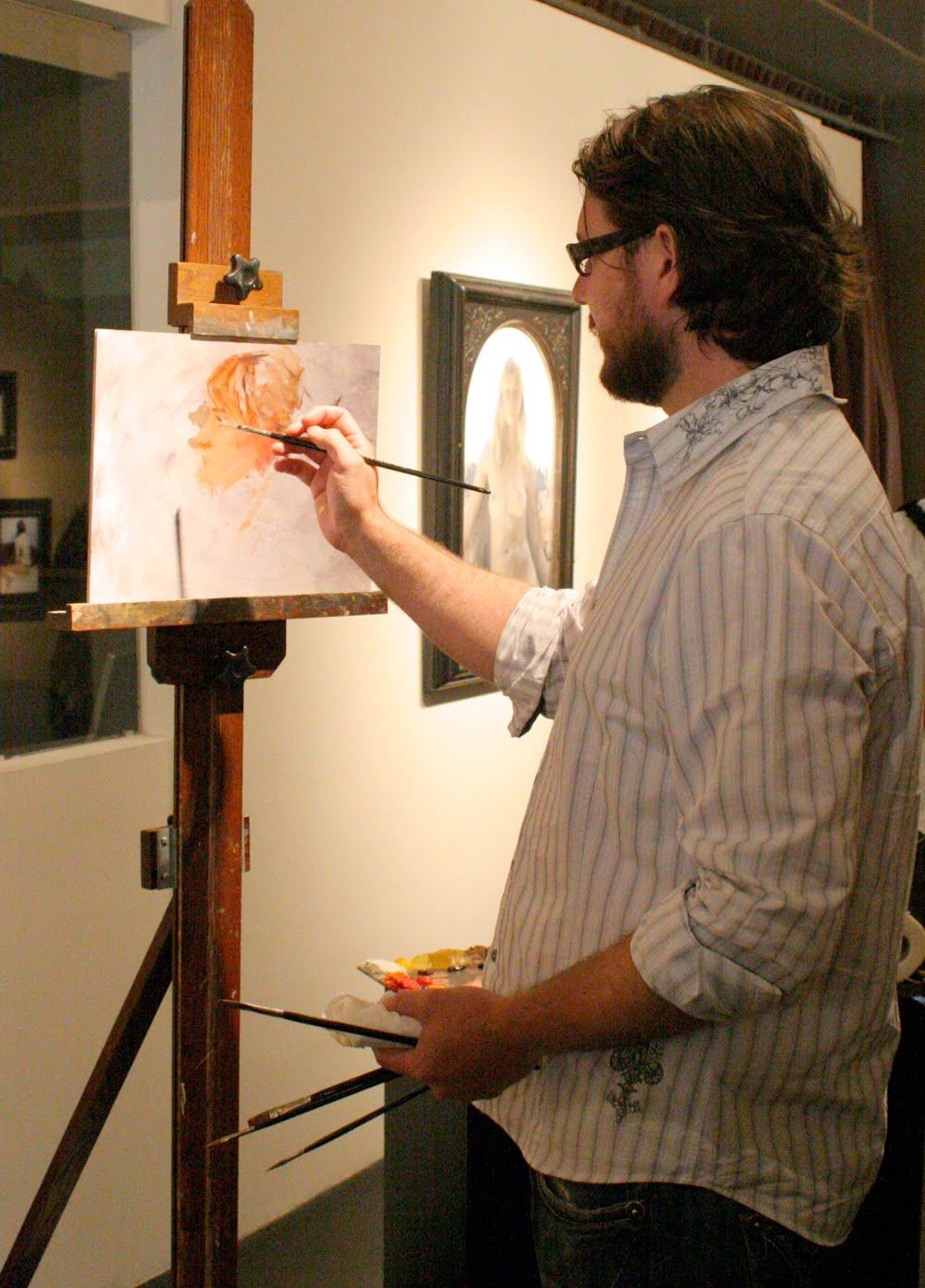 D Painting Exhibition : Ryan mellody art jeremy lipking demo