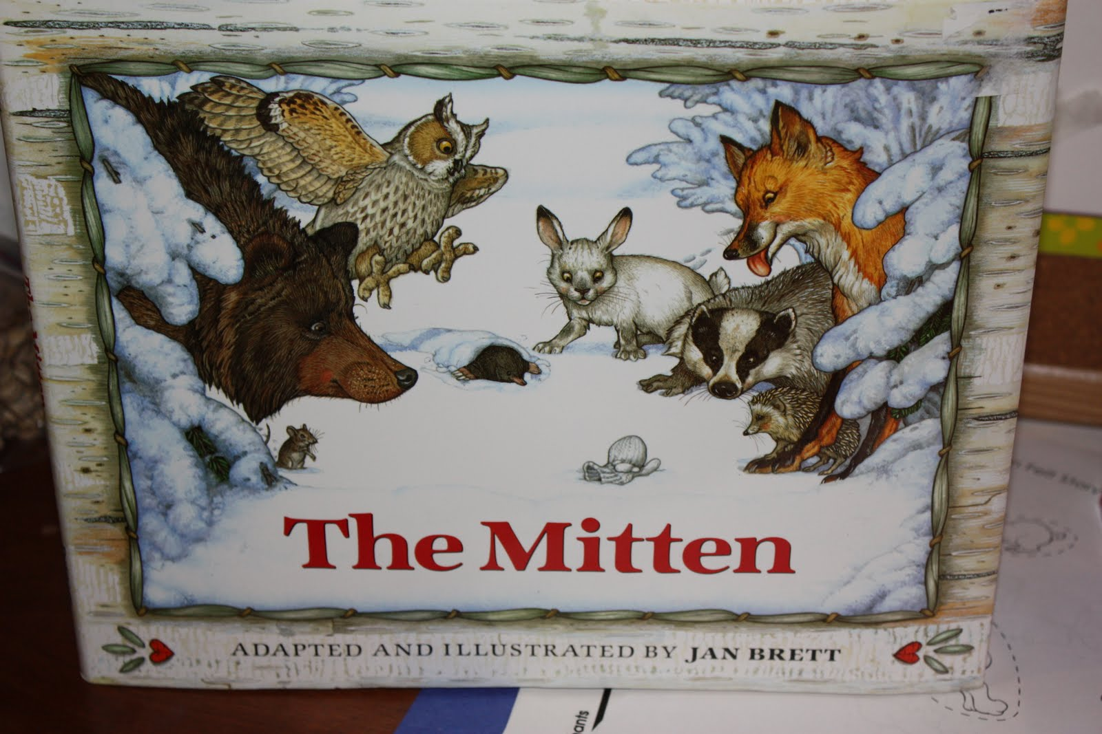 The Mitten By Jan Brett The mitten, illustrated by