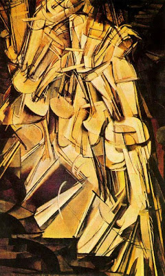 Marcel Duchamp Nude Descending A Staircase No 2