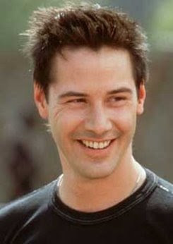 here is a keanu happy snap for those who doubted one existed how cute