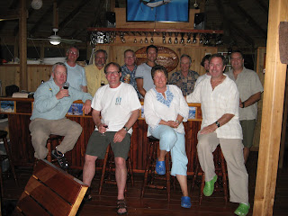 Photo of Country Pleasures guests and Mango Creek Lodge staff members