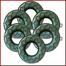 Mousse mouillable pour fleurs fraîches - Couronne - ring - décoration florale