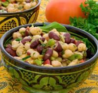 Reteta - Salata cu fasole, rosie si avocado