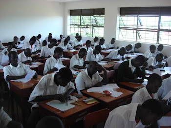S. 4 White Students Taking Math Mock Exam