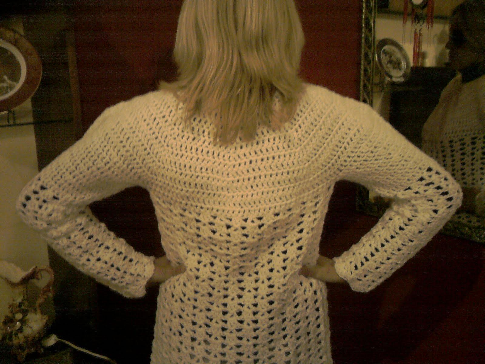 Esta Tejido En Crochet Tiene El Canesu Semi Circular Todo En Varetas