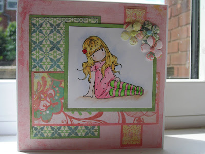 Birthday card for 17 year old daughter images birthday cake twinkletoes a birthday card for my lovely 17 year old daughter the stamped image was a bookmarktalkfo Choice Image