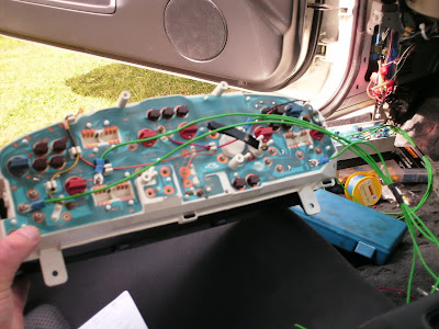 Nissan R33 Cluster Wiring