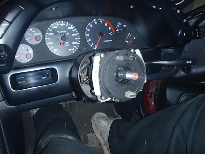 Steering Wheel Removed unbolted