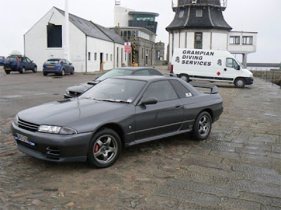 Stock Original Gun Metal Grey Nissan Skyline