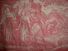 Toile de Rouen with a Scottish theme c1800
