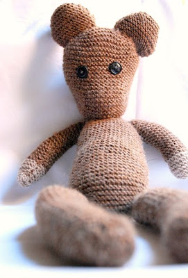 Free Knitting Pattern For Mr Bean s Teddy Bear : FREE MR BEAN TEDDY KNITTING PATTERN - VERY SIMPLE FREE KNITTING PATTERNS