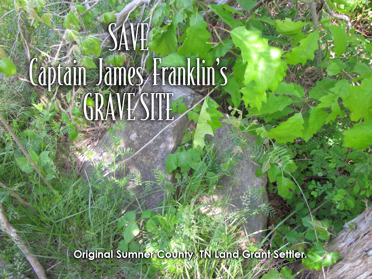 Save Captain James Franklin's Grave