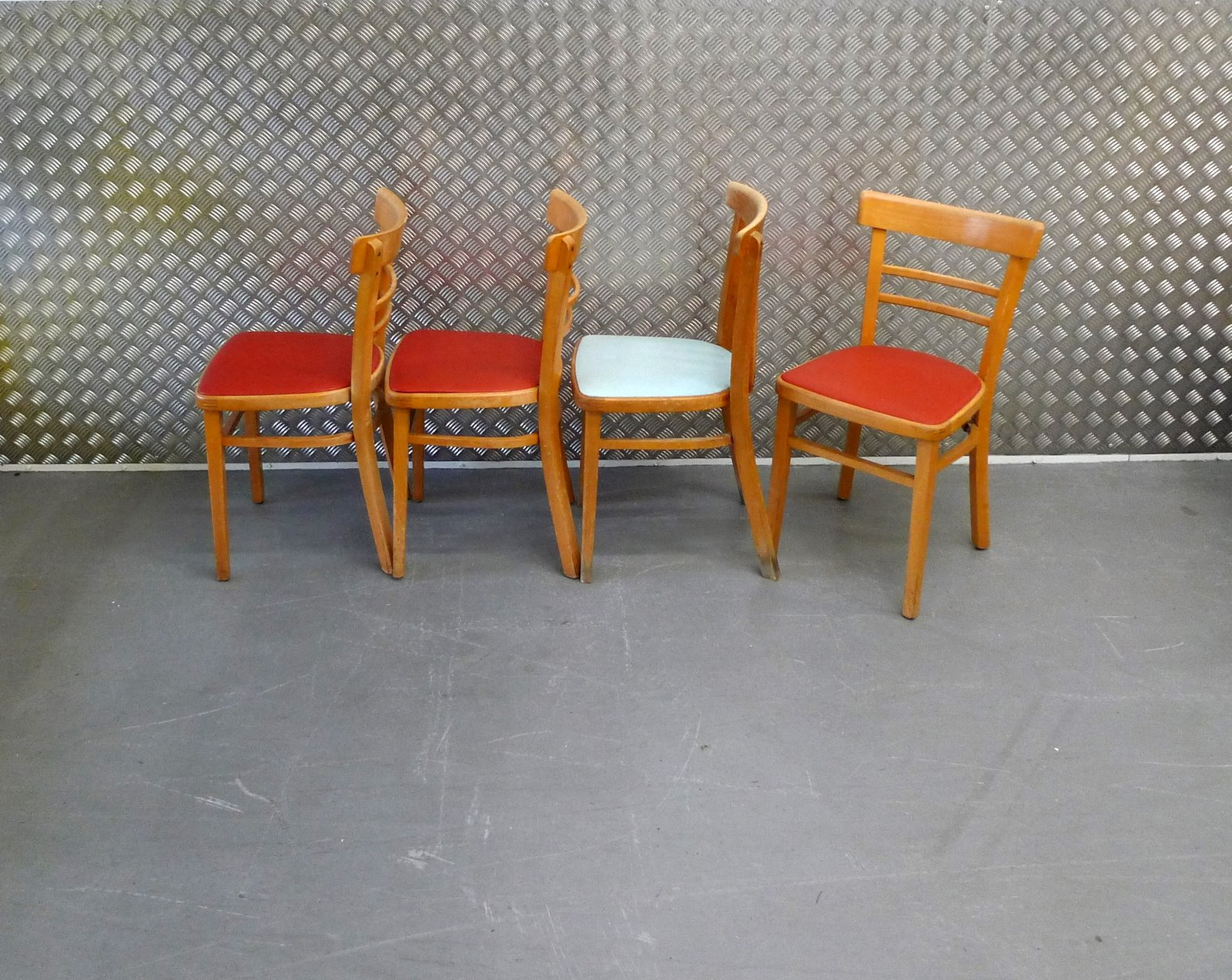 Some Sweet Vintage Old School Chairs From The 50s