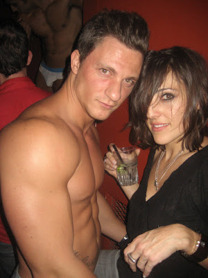 ... some gay ass gay club where this hot straight go go dancer and her... ...