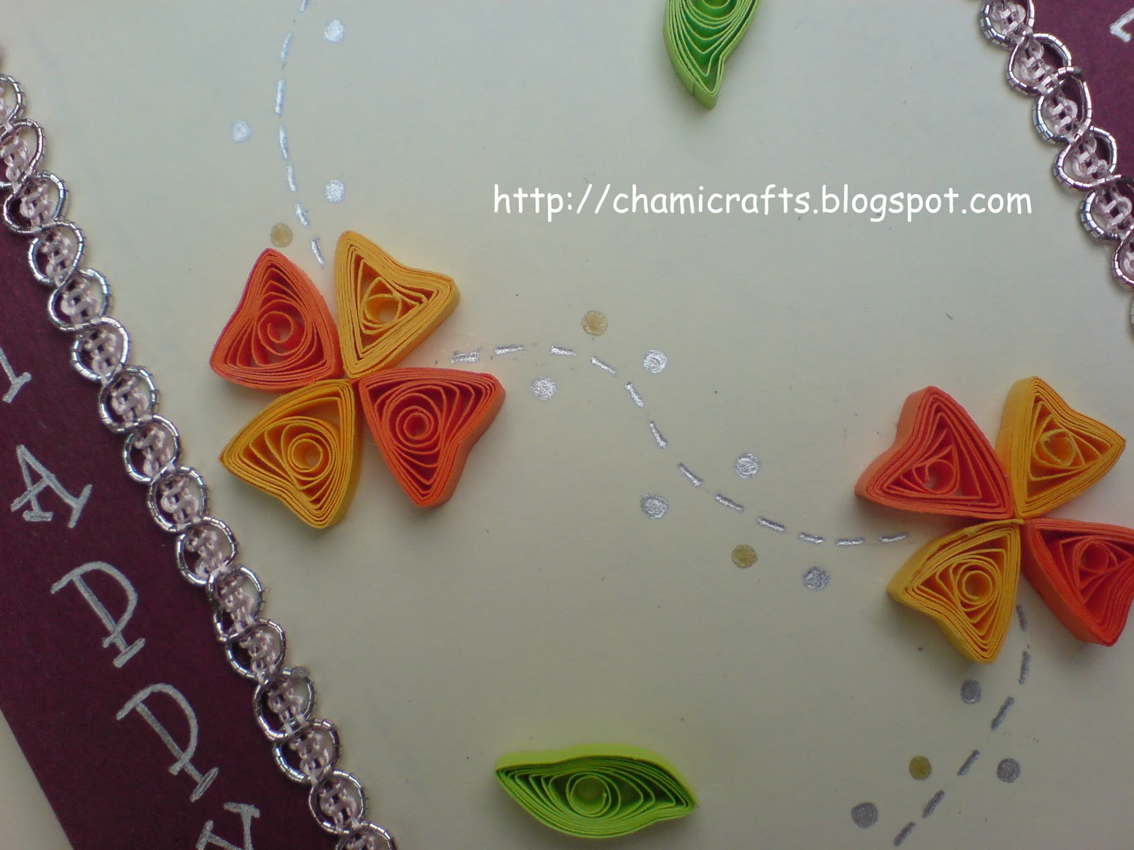 Chami Crafts  Handmade Greeting Cards: Another Bithday Card design