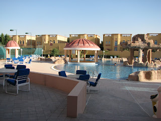 The Pool At This Al Fardan Compound. It Is *huge*, Like Something At A  Major Hotel. The Associated Club House Has A Full Dining Room, A Formal  Room, ...