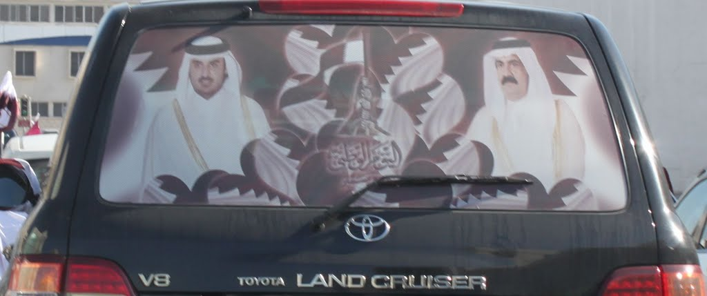 December 18th was qatar national day and literally overnight about 10 of the land cruisers in the country and there are a lot of land cruisers here