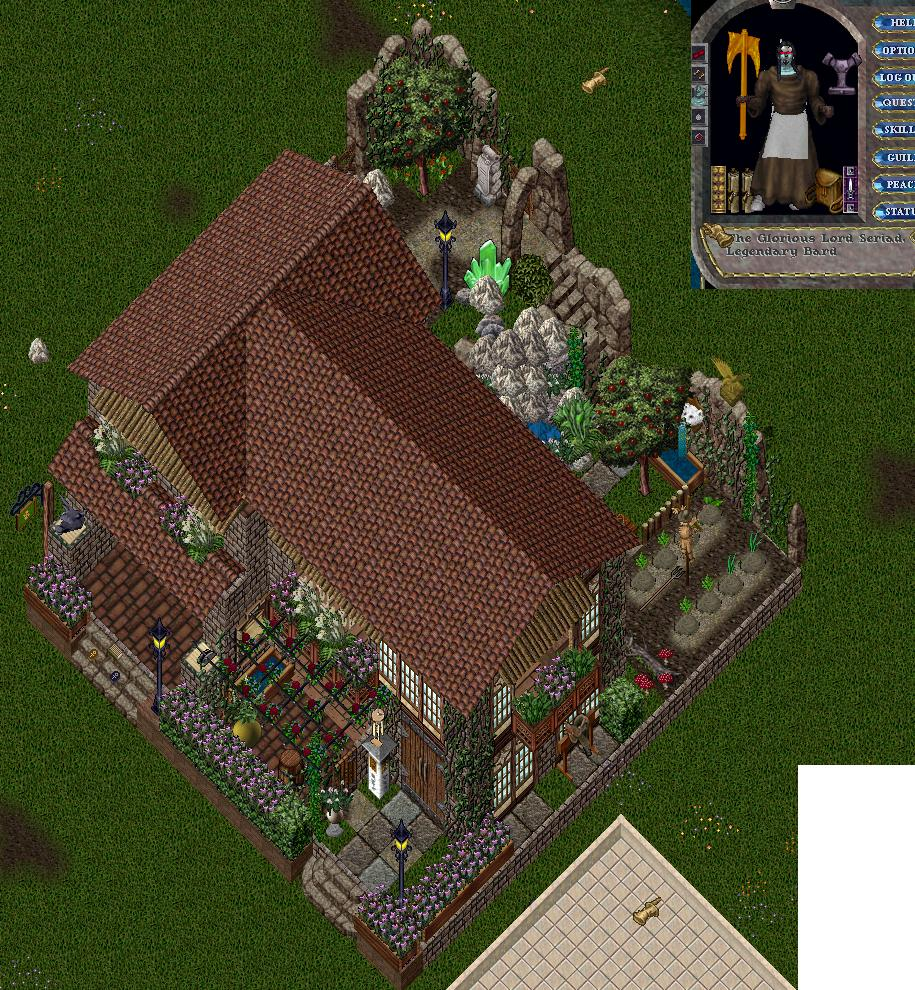 Uo Home Home Decor: Seriad's Ultima Online © Home Building And Deco