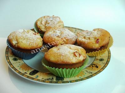 Articole culinare : Briose super pufoase cu mere