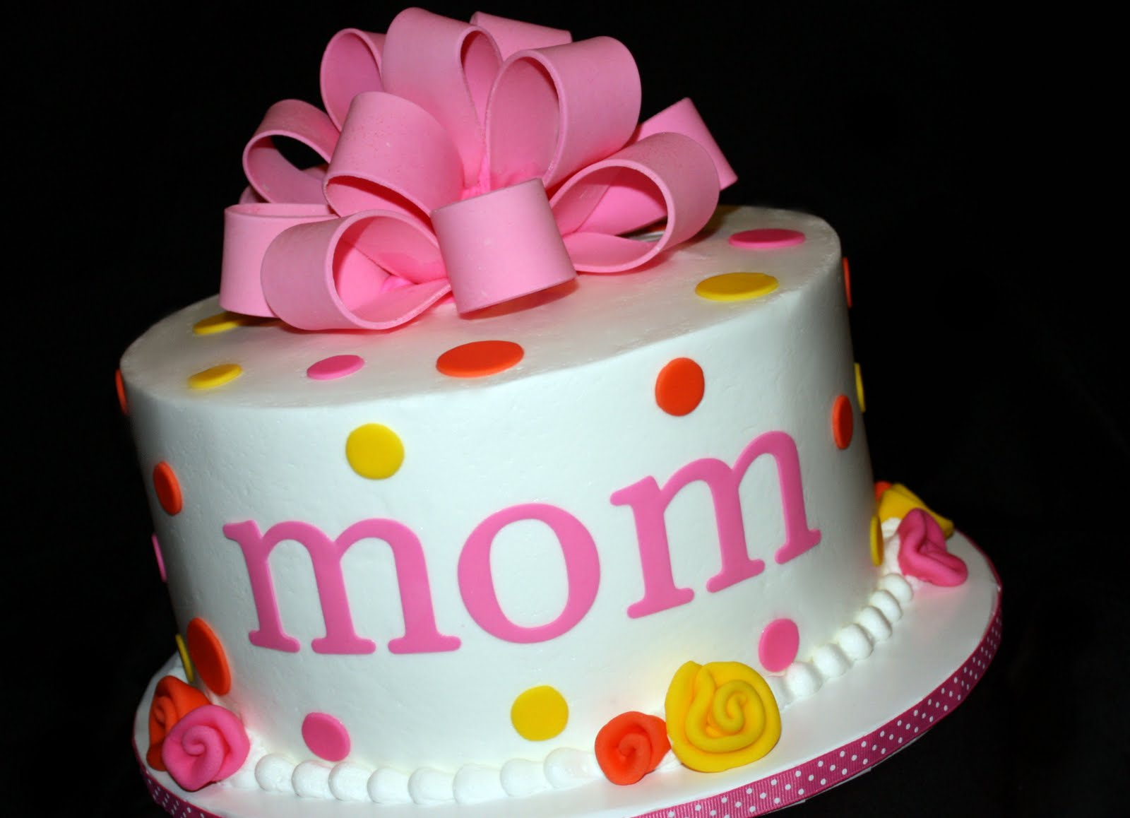 Birthday Cakes Mom Image Inspiration of Cake and Birthday Decoration
