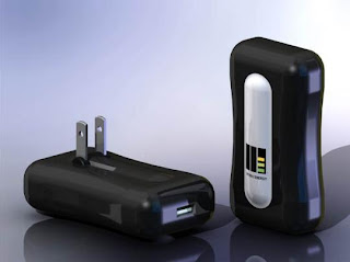 M2E Power's charger, powered by human motion. (Credit: M2E Power)