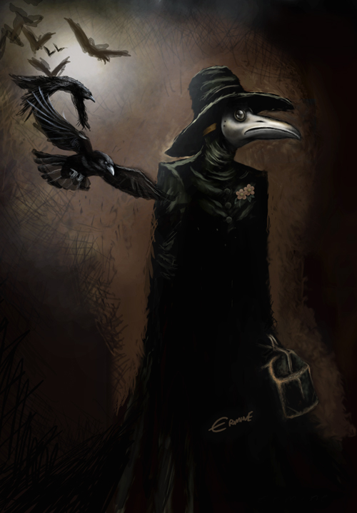 bubonic plague doctor. The Plague Doctor became a