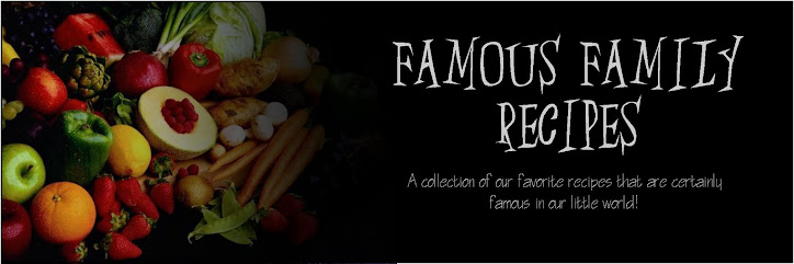 Practically World Famous Recipes