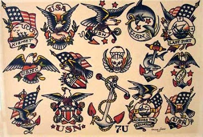Sailor Jerry Tattoos on Sailor Jerry Tattoo Flash Art