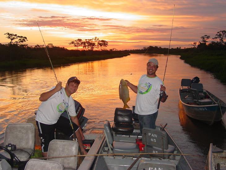 Nas horas vagas...pescar é claro!