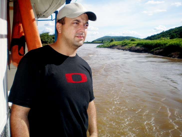 Subindo o Rio Taquari.