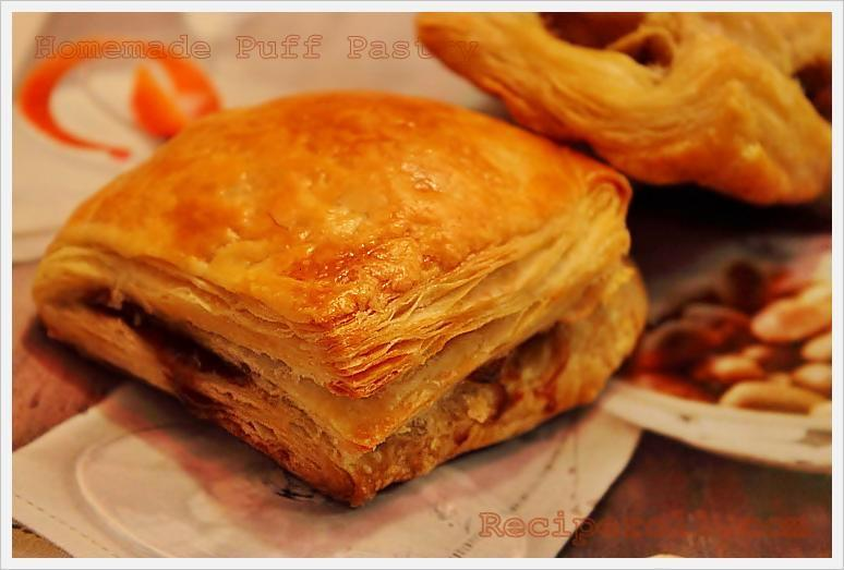 Homemade Puff Pastry and Egg Puffs ~ Sankeerthanam (Reciperoll.com ...