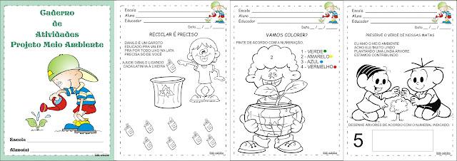 Caderno de Atividades Projeto Meio Ambiente