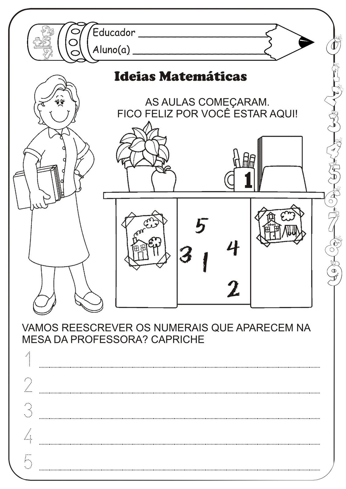 Muitas vezes Atividade Matemática Volta ás Aulas | Ideia Criativa - Gi Barbosa  TF24