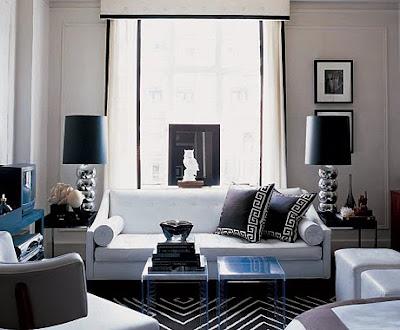 Best home furnishings green home furnishings fashion White and black modern living room